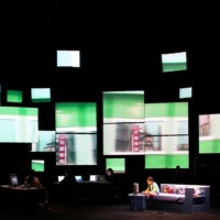 What can theatre say about the internet?