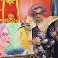 Interview: Dame Edna Everage